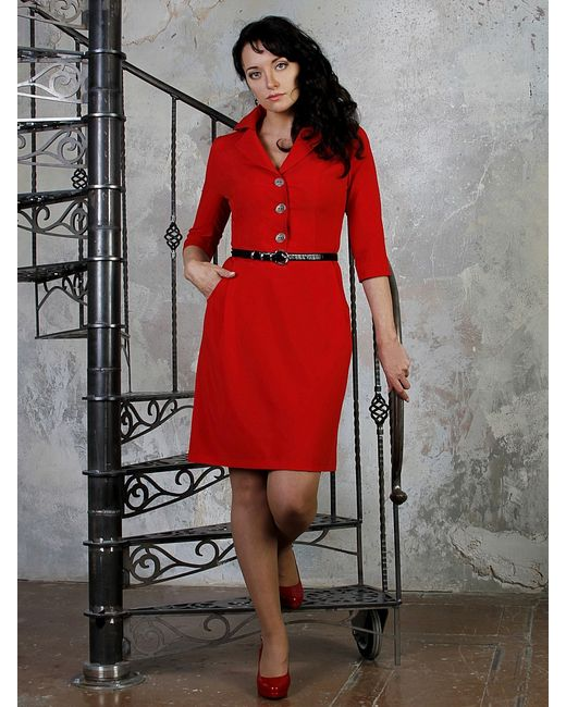 Giulia Rossi   Женские Красные Платья