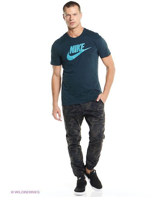Nike | Мужская Морская Волна Футболка