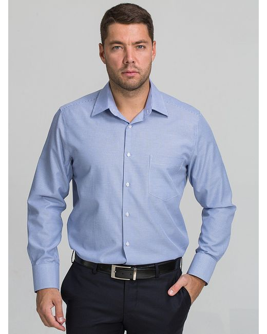 JOHN JENIFORD   Мужские Синие Рубашки