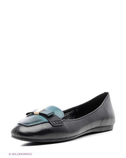 bigRope | Женские Чёрные Туфли