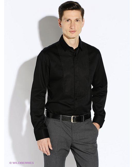 Oodji | Мужские Чёрные Рубашки