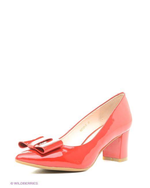 Moda Donna | Женские Красные Туфли