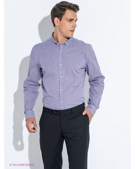Oodji   Мужские Фиолетовые Рубашки