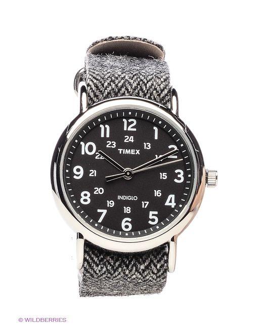 Timex | Женские Чёрные Часы
