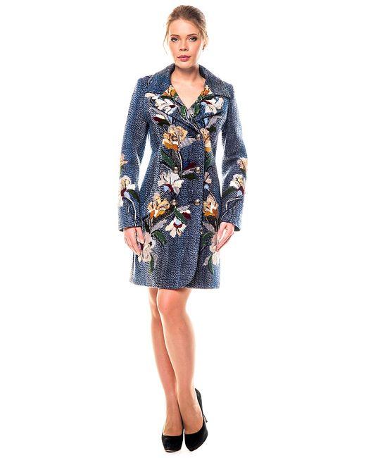 Yukostyle | Женское Синее Пальто