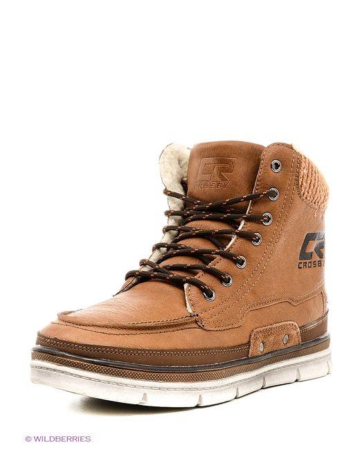 Crosby   Мужские Коричневые Ботинки