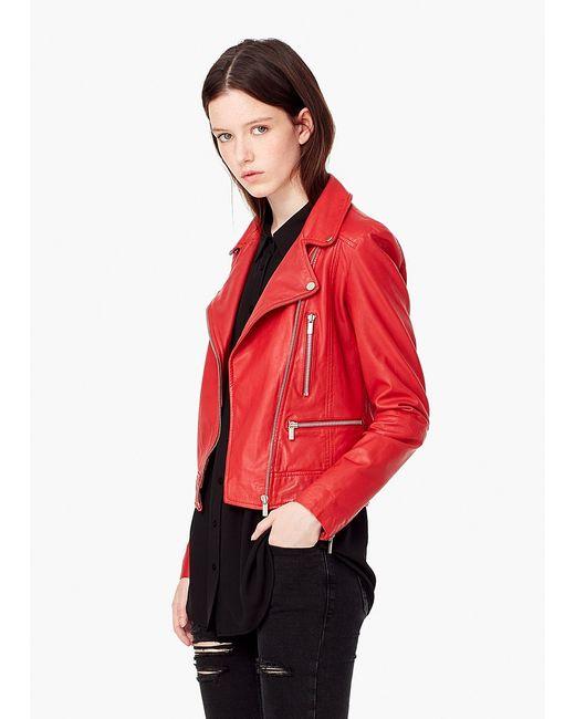 Mango | Женские Красные Куртки