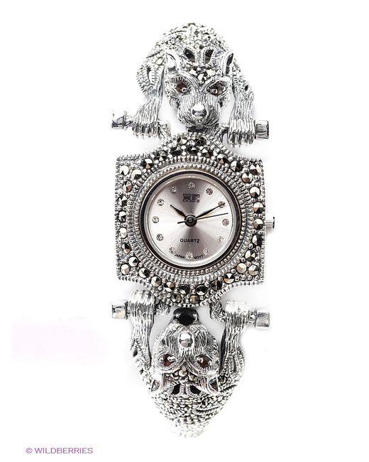 МАРКАЗИТ   Серебристые Ювелирные Часы