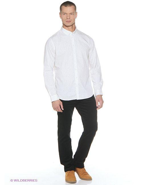 Sela   Мужские Белые Рубашки