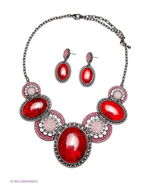 Bijoux Land   Женские Красные Комплекты Бижутерии
