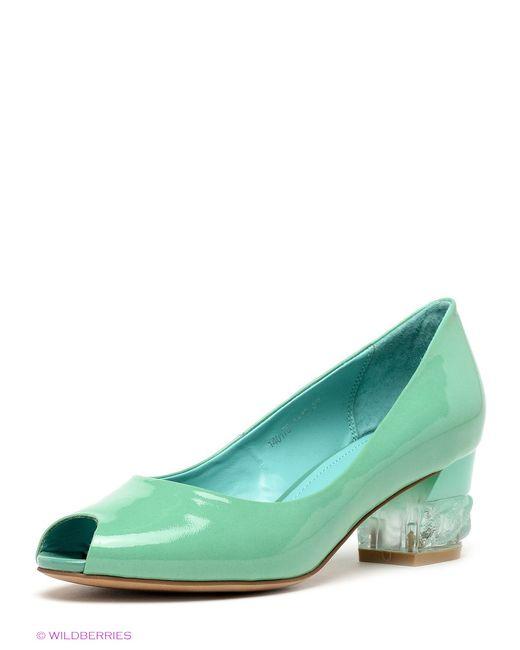 Renaissance   Женские Зелёные Туфли