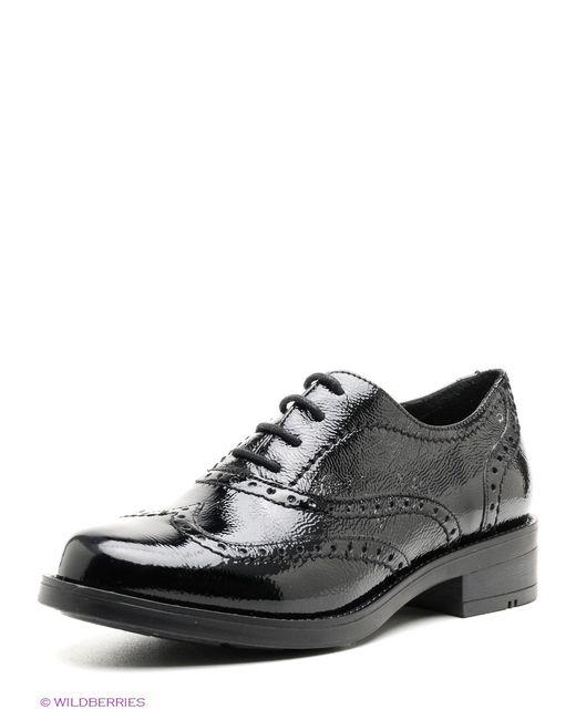 Tervolina | Женские Чёрные Ботинки