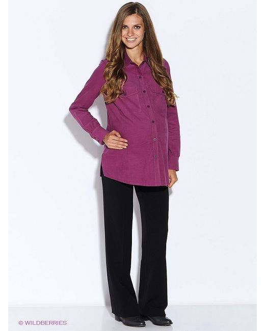 MammySize   Женские Фиолетовые Рубашки