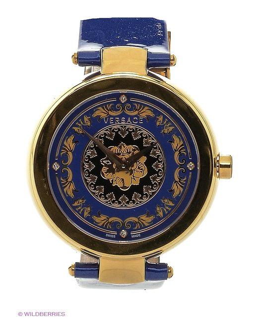 Versace | Женские Синие Часы