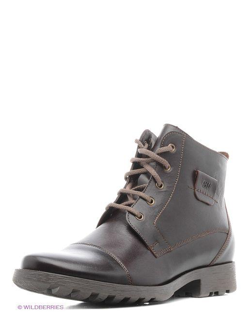 BELWEST   Мужские Коричневые Ботинки