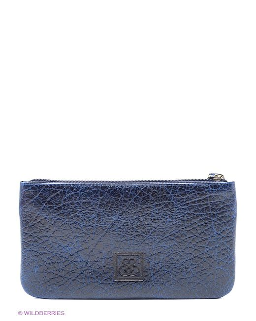 Esse | Женское Синее Портмоне
