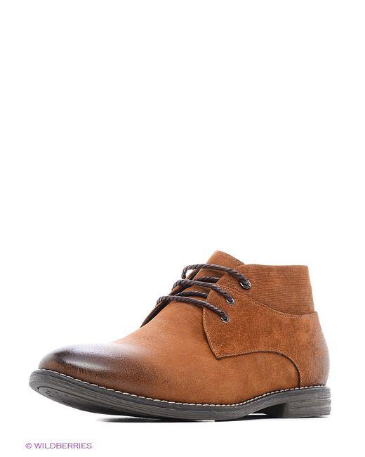 Calipso | Мужские Коричневые Ботинки