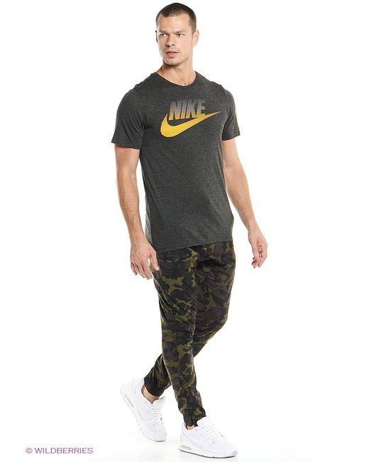 Nike | Мужская Чёрная Футболка