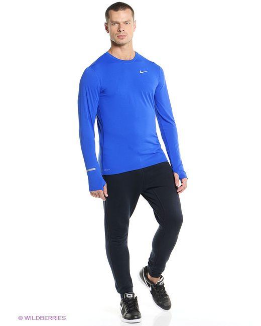 Nike   Мужской Синий Лонгслив