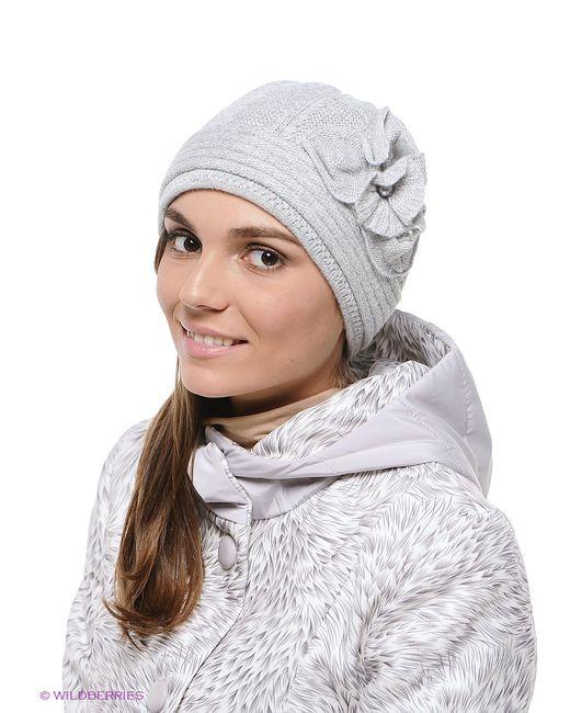 MAXVAL   Женские Серые Шапки