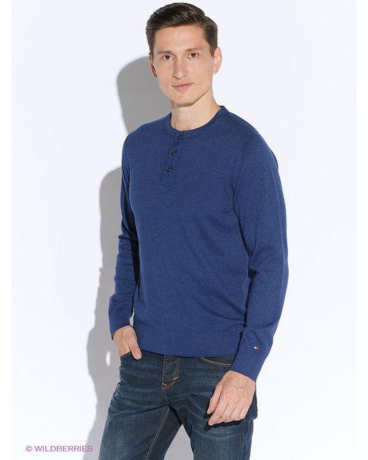 Tommy Hilfiger   Мужские Синие Джемперы