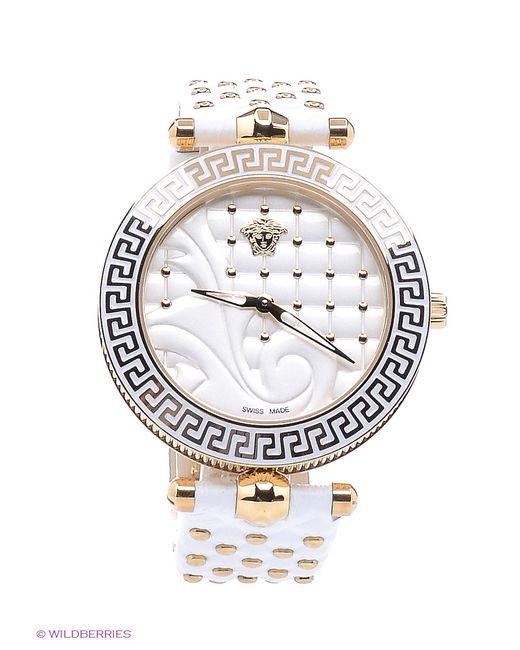Versace   Женские Золотистые Часы