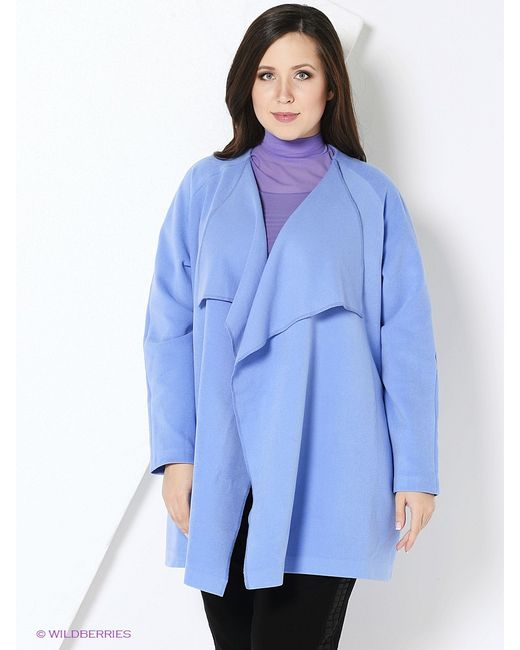 A.Karina | Женское Голубое Пальто