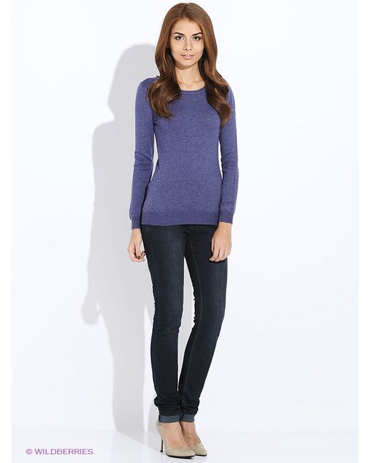 Sela | Женские Фиолетовые Джемперы