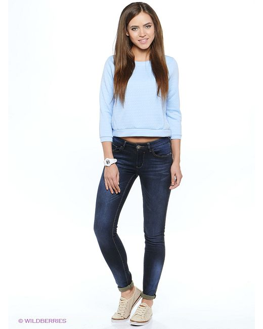 ТВОЕ | Женские Голубы Джемперы