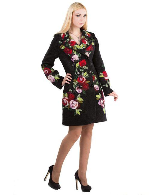 Yukostyle | Женское Чёрное Пальто