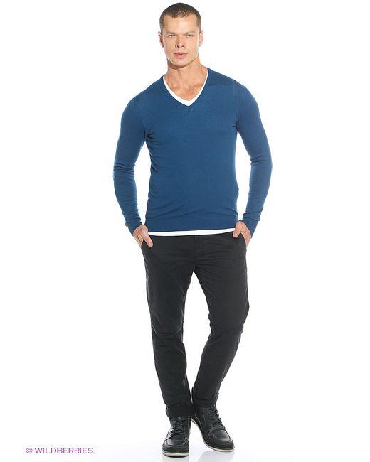 ТВОЕ   Мужские Синие Пуловеры