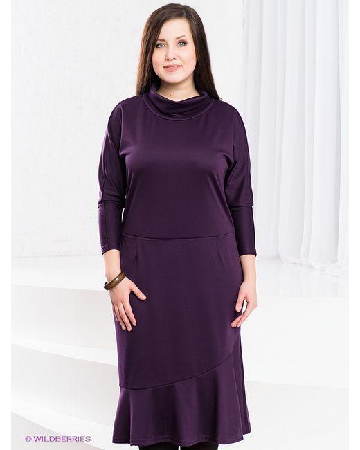 Klimini | Женские Фиолетовые Платья