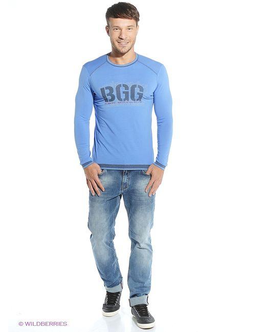 BAGGAGE | Мужские Синие Лонгсливы