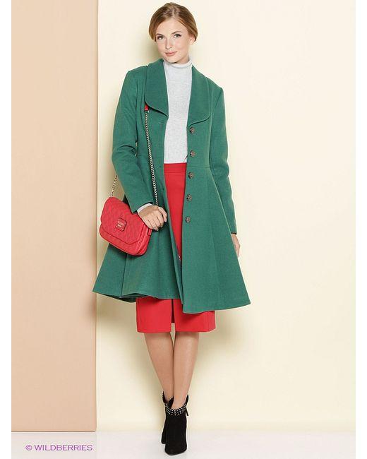Stets   Женское Зелёное Пальто