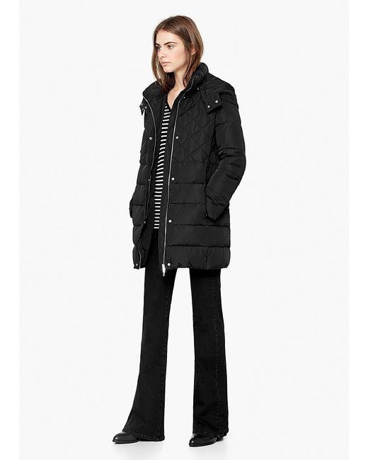 Mango | Женские Чёрные Куртки