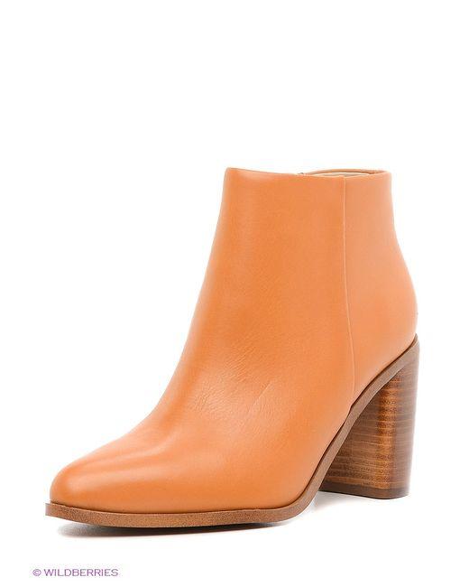 Mango | Женские Коричневые Ботинки
