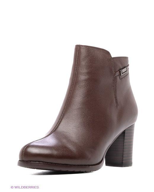 Inario | Женские Коричневые Ботинки