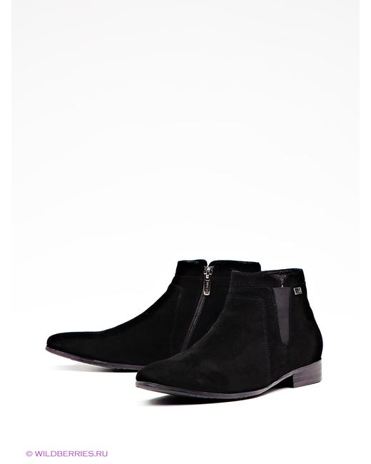 Wasco | Мужские Чёрные Ботинки