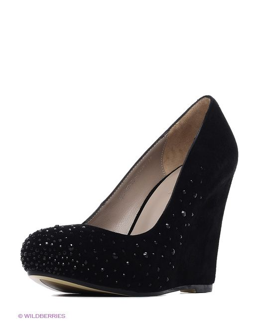 Calipso   Женские Чёрные Туфли