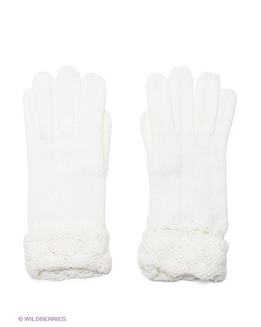 Oodji | Женские Белые Перчатки