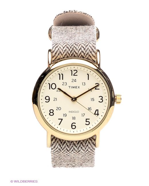 Timex   Женские Белые Часы