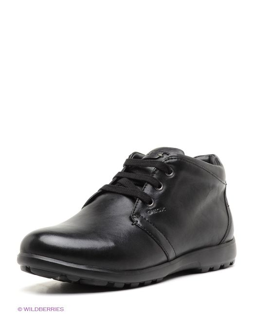 Geox   Мужские Чёрные Ботинки