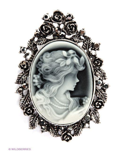 Royal Diamond   Женские Чёрные Броши