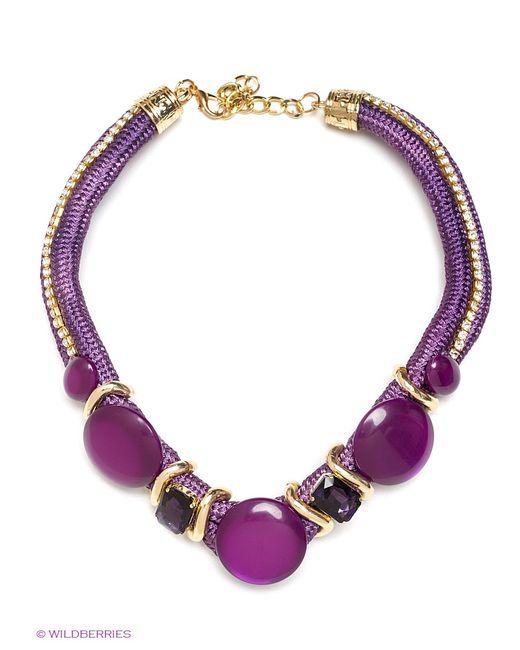 Taya | Женское Фиолетовое Колье