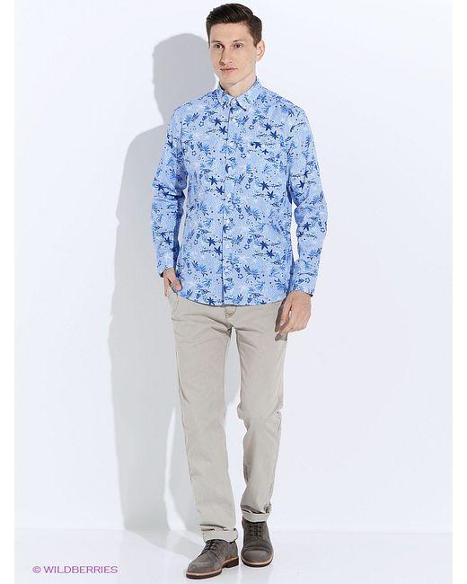 Men of all nations | Мужские Голубы Рубашки