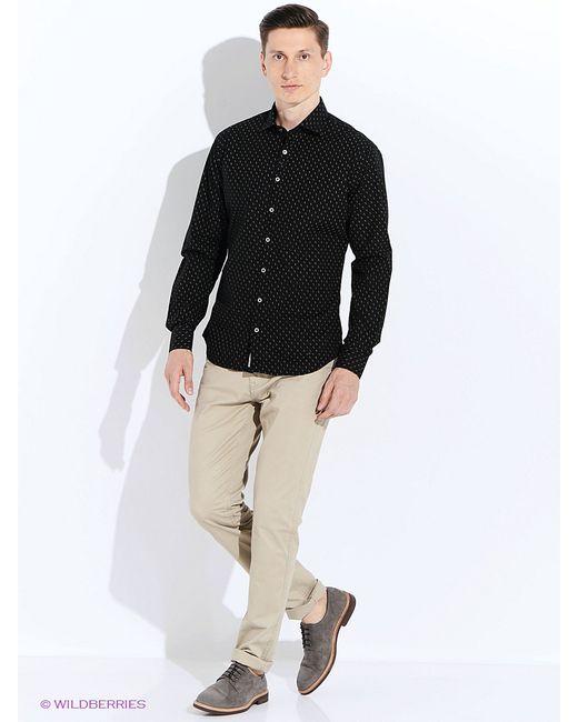Mango Man | Мужские Чёрные Рубашки