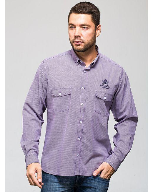 JOHN JENIFORD | Мужские Фиолетовые Рубашки