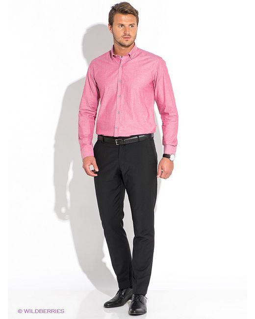 BAWER   Мужские Розовые Рубашки