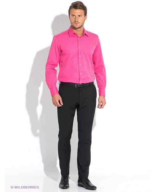 Favourite   Мужские Розовые Рубашки