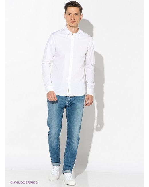 Calvin Klein   Мужские Белые Рубашки
